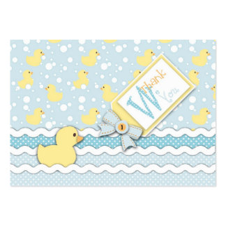 Lil' Duckling TY Gift Tag Business Card Template