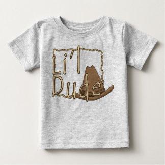 Li'l Dude Little Western Cowboy Baby T-Shirt