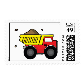 Lil Dumper Postage Stamps