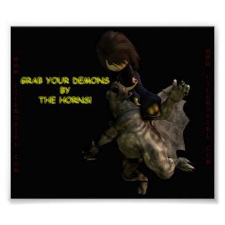 Lil Emo Girl, Grab Your Demons by the Horns Poster
