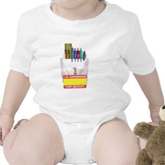 Lil Engineer Pocket Protector Bodysuits