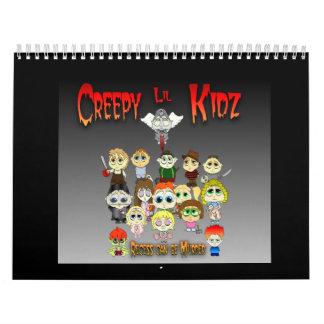 Lil espeluznante Kidz 2009 Calendario