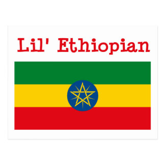 Lil' Ethiopian Postcard