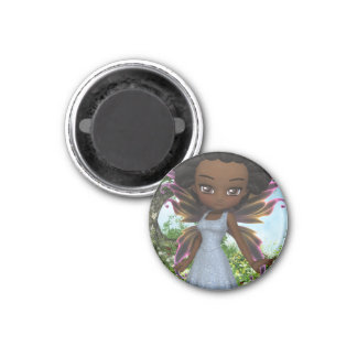 Lil Fairy Princess 1 Inch Round Magnet