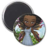 Lil Fairy Princess 2 Inch Round Magnet