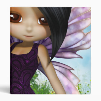 Lil Fairy Princess 3 Ring Binder