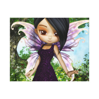 Lil Fairy Princess Gallery Wrapped Canvas