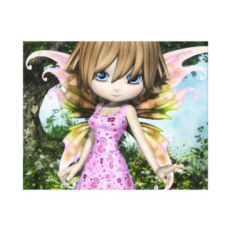 Lil Fairy Princess Gallery Wrap Canvas