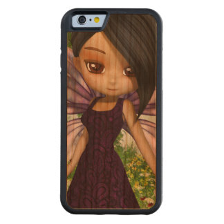 Lil Fairy Princess Carved Cherry iPhone 6 Bumper Case