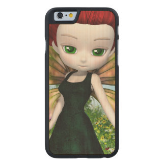 Lil Fairy Princess Carved Maple iPhone 6 Case