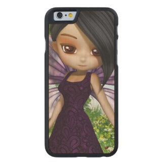 Lil Fairy Princess Carved Maple iPhone 6 Slim Case