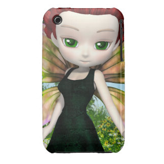 Lil Fairy Princess iPhone 3G/3GS Case-Mate Barely iPhone 3 Case