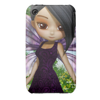 Lil Fairy Princess iPhone 3G/3GS Case-Mate Barely iPhone 3 Cover