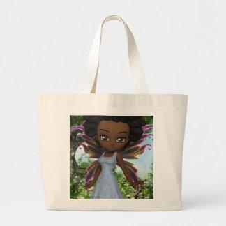 Lil Fairy Princess Jumbo Tote Bag