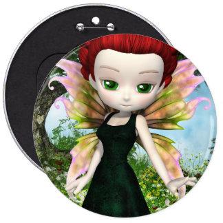 Lil Fairy Princess Pinback Button
