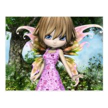 Lil Fairy Princess Postcards