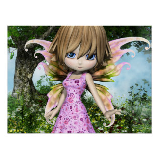 Lil Fairy Princess Poster
