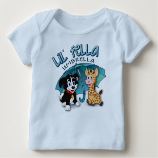 Lil' Fella Umbrella Baby T-Shirt