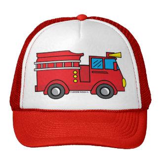 Lil Fire Truck Mesh Hat
