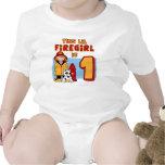 Lil Firegirl 1st Birthday Shirts