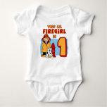 Lil Firegirl 1st Birthday T-shirt