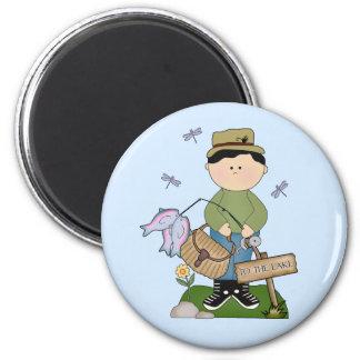 Lil Fisherman Magnet