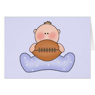 Lil Football Baby Boy Card