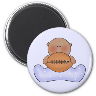 Lil Football Baby Boy- Ethnic Magnet