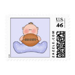 Lil Football Baby Boy Postage Stamps