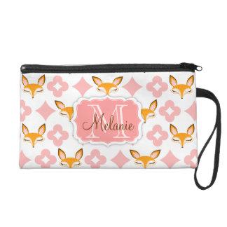 Lil Foxie - bolso de encargo del monograma y conoc