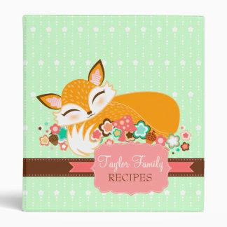 Lil Foxie Cub - carpeta soñolienta linda del
