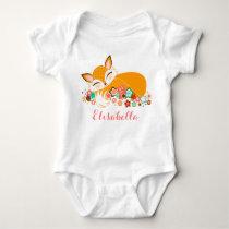 Lil Foxie Cub - Cute Baby Fox Baby Bodysuit
