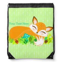 Lil Foxie Cub - Cute Baby Fox Custom Backpack