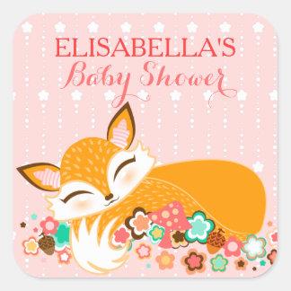 Lil Foxie Cub - Cute Baby Girl Fox Custom Stickers