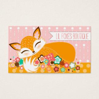 Lil Foxie Cub - Cute Custom Business Cards