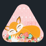 """Lil Foxie Cub - Cute Custom Speaker<br><div class=""""desc"""">This cute speaker features an adorable little fox and text you can easily edit with a name or brief message - click CUSTOMIZE to change background colors,  text color and font</div>"""