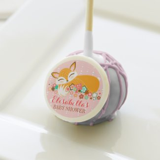 Lil Foxie Cub - Cute Girly Fox Custom Cake Pops Cake Pops