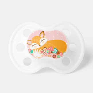 Lil Foxie Cub - Fox lindo Binky del bebé Chupetes Para Bebes