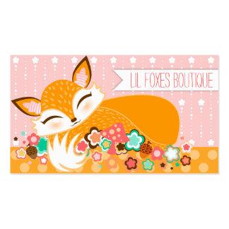 Lil Foxie Cub - tarjetas de visita de encargo