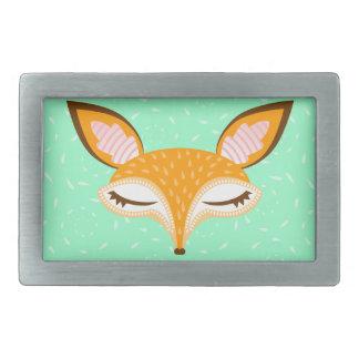 Lil Foxie - Cute Girly Fox Belt Buckle
