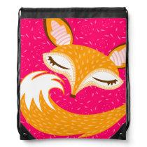 Lil Foxie - Cute Sleepy Fox Backpack