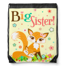 Lil Foxies Big Sister Backpack