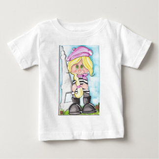 Lil' French Girl Baby T-Shirt