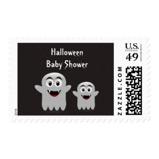 Lil  Ghost Baby Shower Postal Stamps