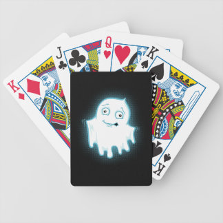 Lil' Ghost Halloween Design Bicycle Playing Cards