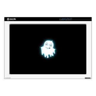 Lil' Ghost Halloween Design Decal For Laptop