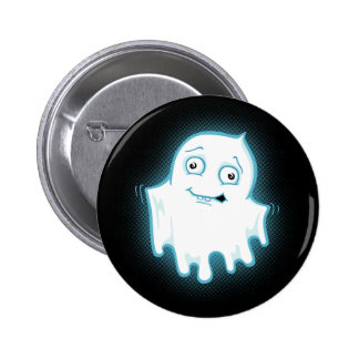 Lil' Ghost Halloween Design Pins