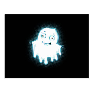 Lil' Ghost Halloween Design Postcard