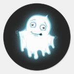 Lil' Ghost Halloween Design Sticker