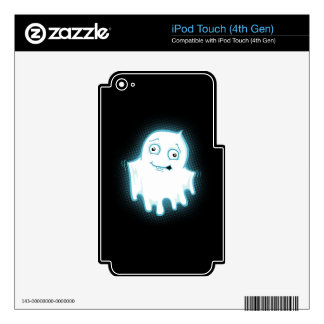 Lil' Ghost Halloween Ipod Touch 4th Gen Skin Skins For iPod Touch 4G